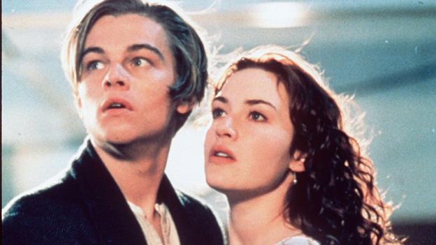 Jack und Rose in Titanic