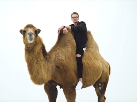 ESC Teilnehmer mit Kamel