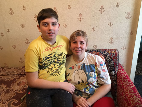 Ukraine Krieg Flucht Caritas