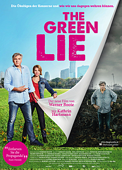 "Plakat zum Film ""THe Green Lie"""