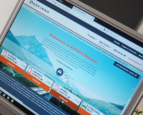 Asfinag Website