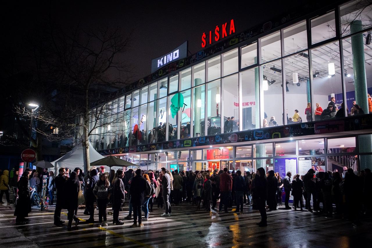 Kino Šiška, Eröffnungsabend Ment Festival 2018