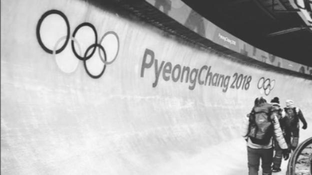 Österreichs Sportler im Eiskanal