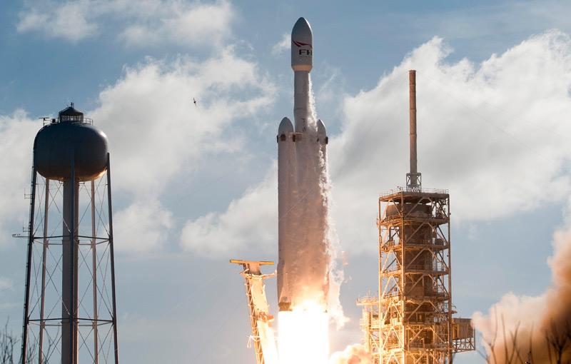 """Start von """"Falcon Heavy"""""""