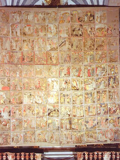 Fastentuch des Doms zu Gurk von 1458