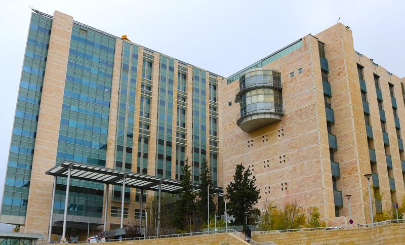 Die Hadassah-Klinik in Jerusalem