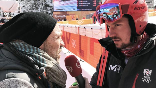 Marcel Hirscher und Adi Niederkorn