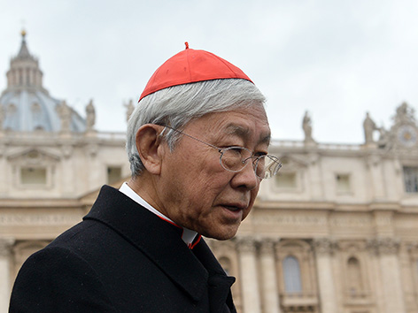 Der emeritierte Bischof von Hongkong Kardinal Joseph Zen Ze-kiun