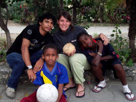 Mirjam Byron Jugend eine Welt Don Bosco Straßenkinderprojekt