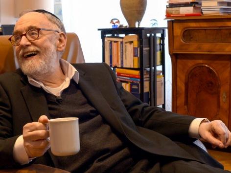 Paul Chaim Eisenberg (Oberrabbiner von Österreich / Ehemaliger Oberrabbiner der jüdischen Gemeinde Wien).