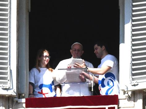 Papst Angelus Anmeldung Weltjugendtag