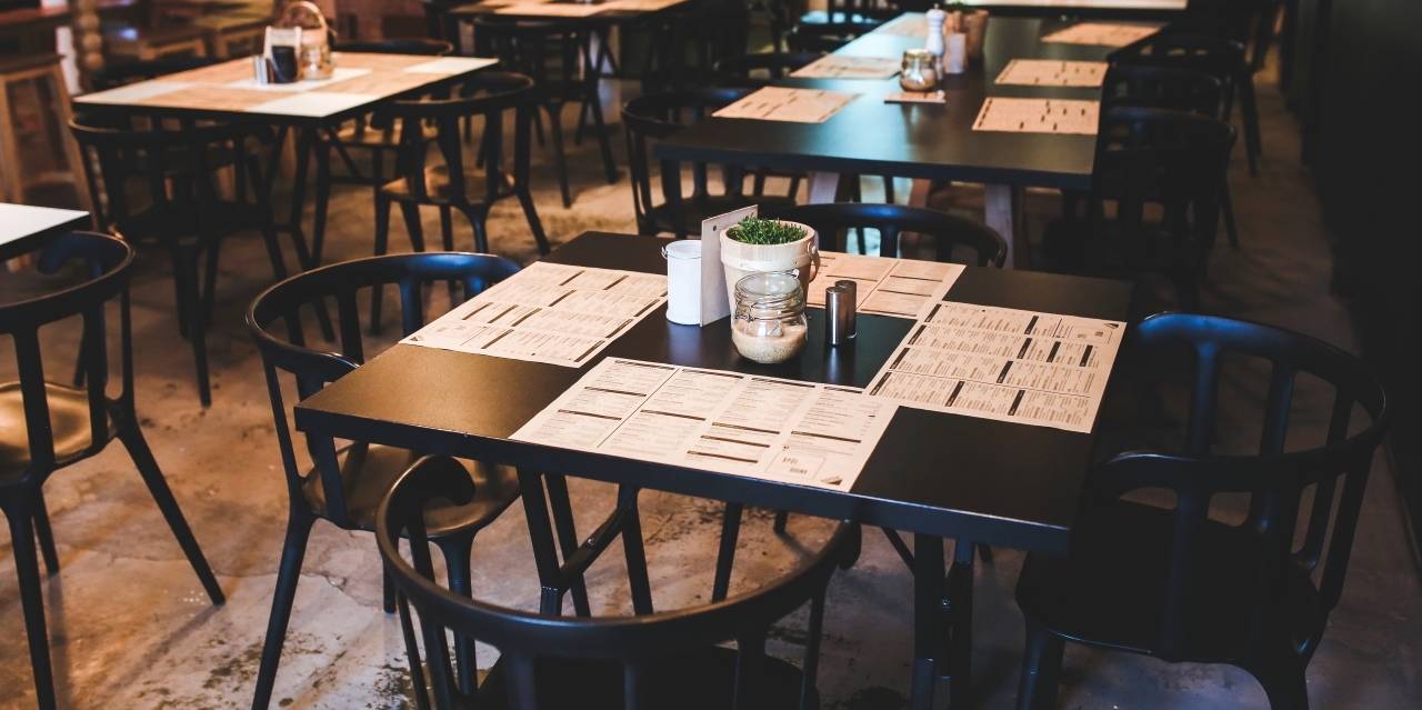 Innenraum Restaurant ohne Gäste