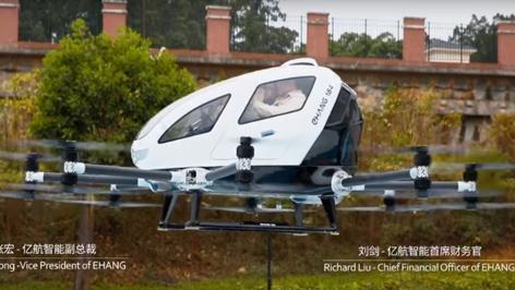 Taxi-Drohne