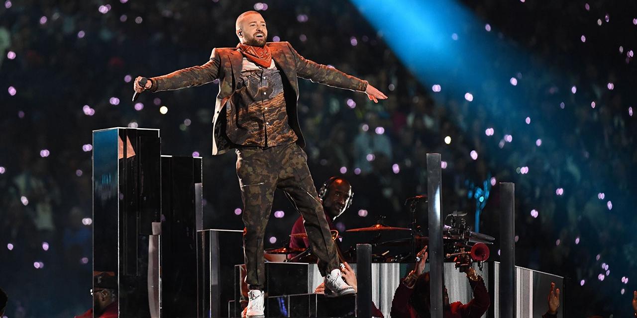 Timberlake beim Superbowl