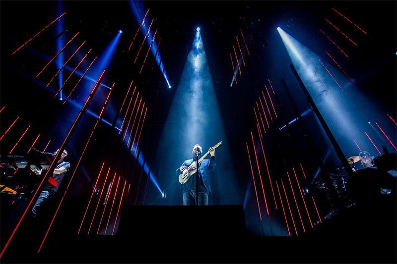alt-J: Lichtshow in der Stadthalle