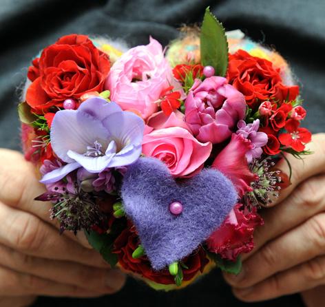 Valentinstags-Blumen