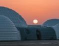 """Die """"Marsstation"""" in der Wüste"""