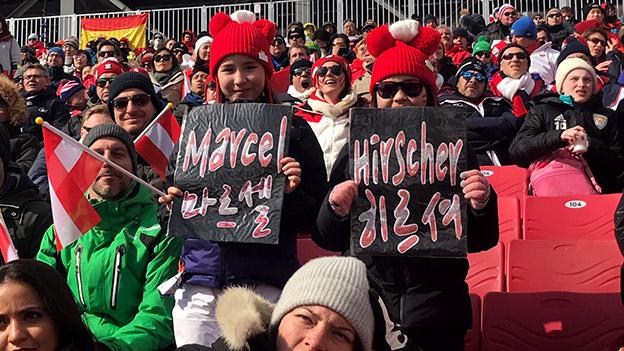 Hirscher-Fans in Südkorea
