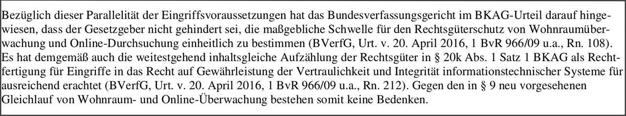 Neue Trojanerregelung in Hessen