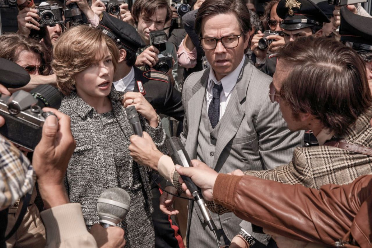 "Mark Wahlberg und Michelle Williams in ""all the money in the world"""