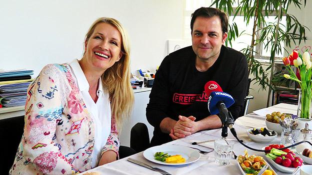 Claudia Stöckl und Martin Rütter