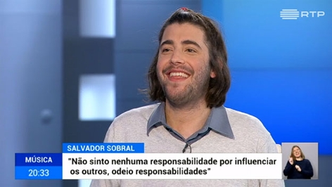 Salvador Sobral im Interview