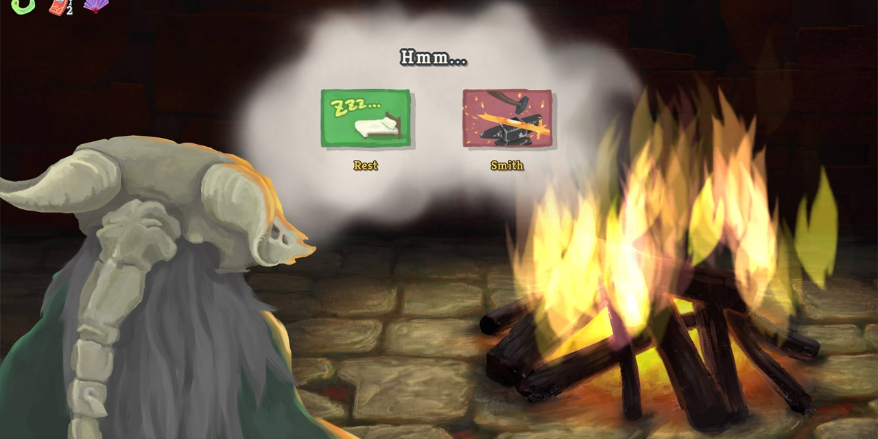 "Artwork aus dem Game ""Slay the Spire"""