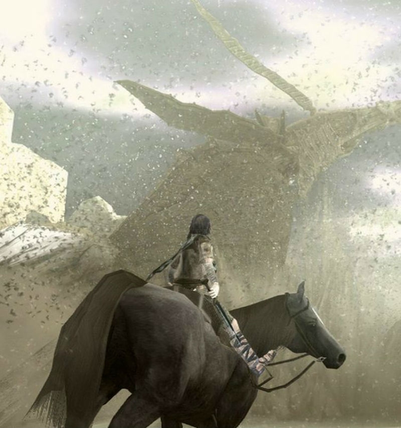 Screenshot des Spiels Shadow Of The Colossus