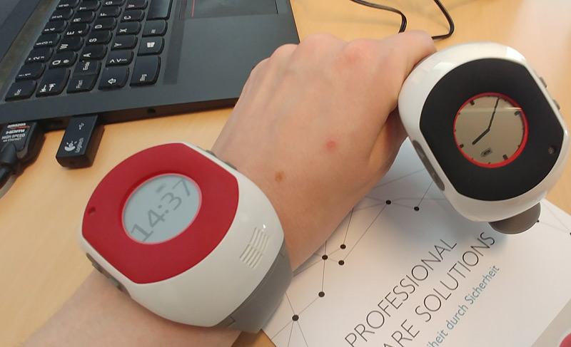 Smarte Uhr