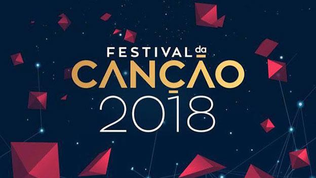 """Logo des portugiesischen Song Contest Vorentscheids """"Festival da Cancao 2018"""""""