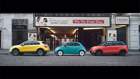 Screenshot aus dem Fiat Spot
