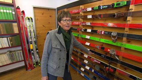 Aus dem Rahmen  Die Geschichte des Skifahrens