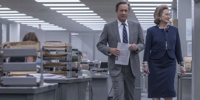 "Tom Hanks und Meryl Streep in ""the post"""