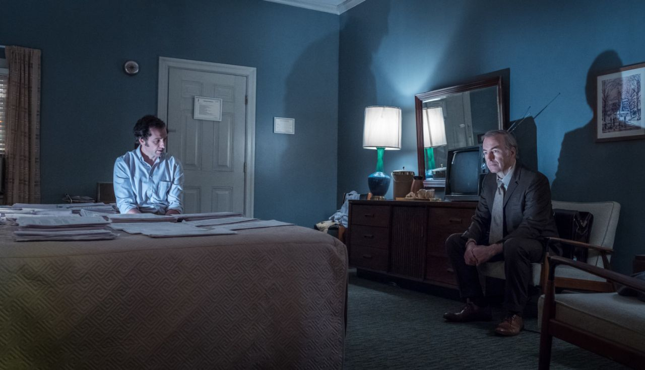 """Matthew Rhys und Bob Odenkirk in """"The Post"""""""