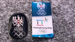 Pins des Team Österreich