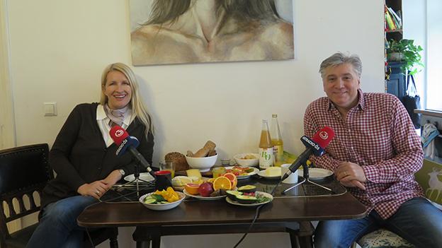 Werner Boote mit Claudia Stöckl