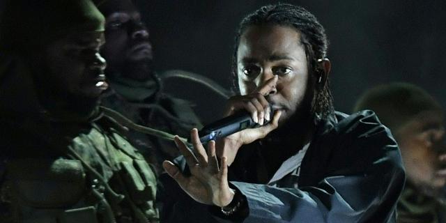 Kendrick Lamar bei den Grammys