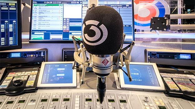 Ö3-Studio Mikrofon