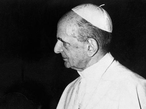 Papst Paul VI. 1974