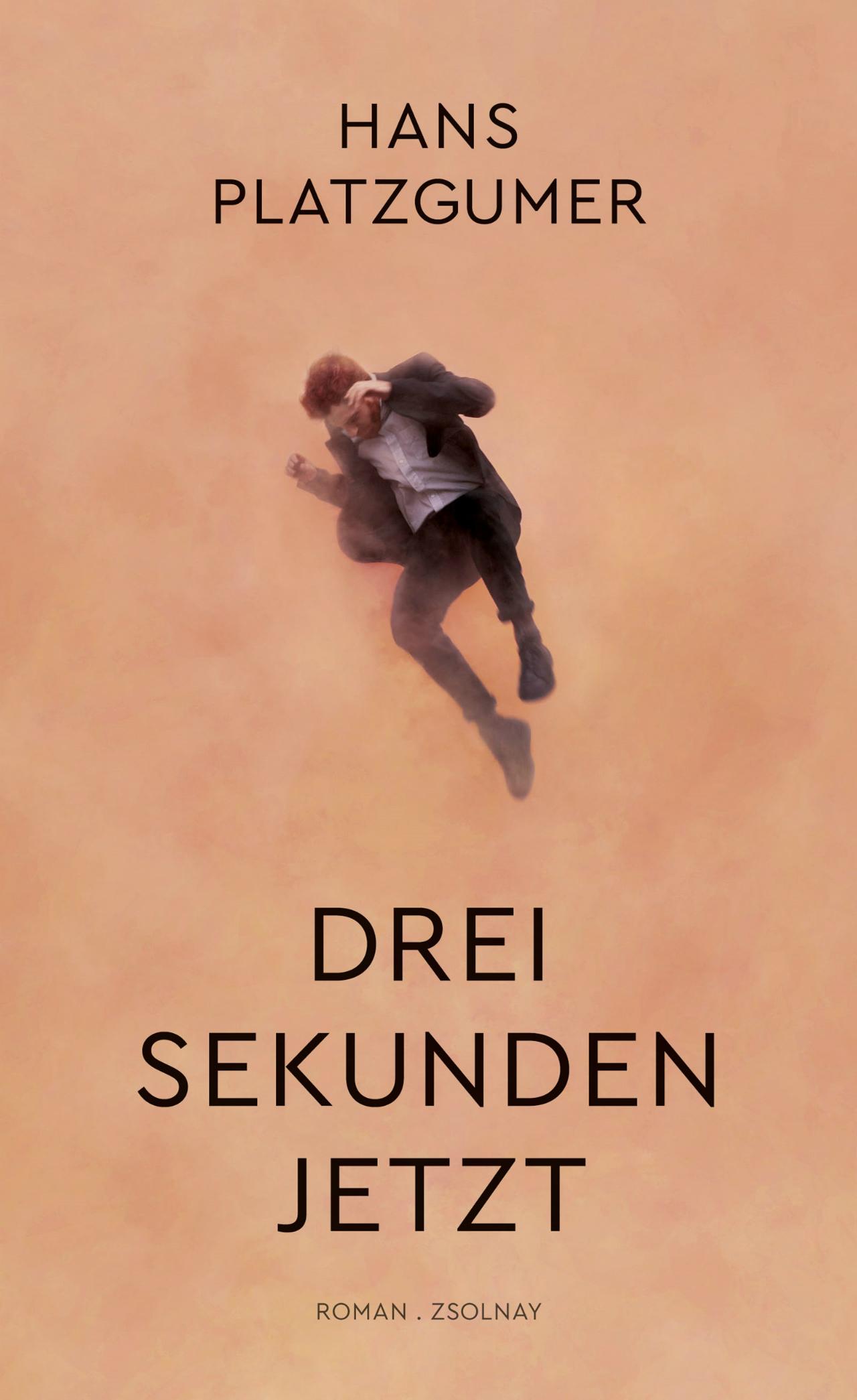 """Buchcover Hans Platzgumer """"Drei Sekunden Jetzt"""""""
