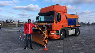Schneepflug-Weltmeister Gerhard Vock