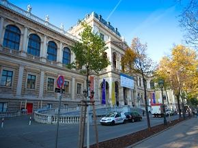 Die Universität Wien von außen