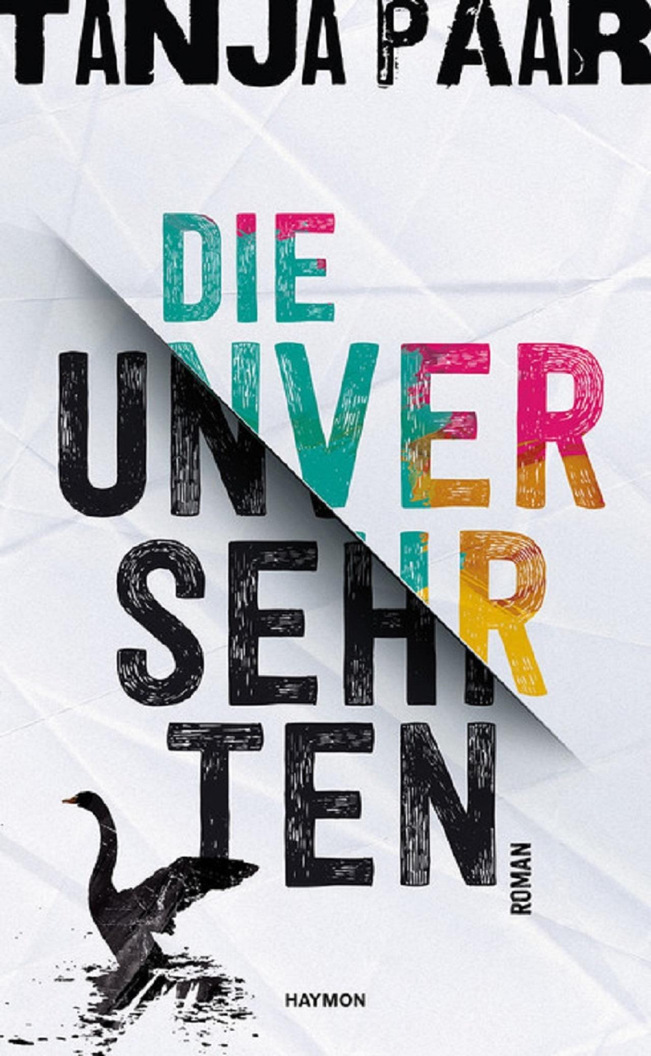 "Cover Tanja Paar ""Die Unversehrten"""