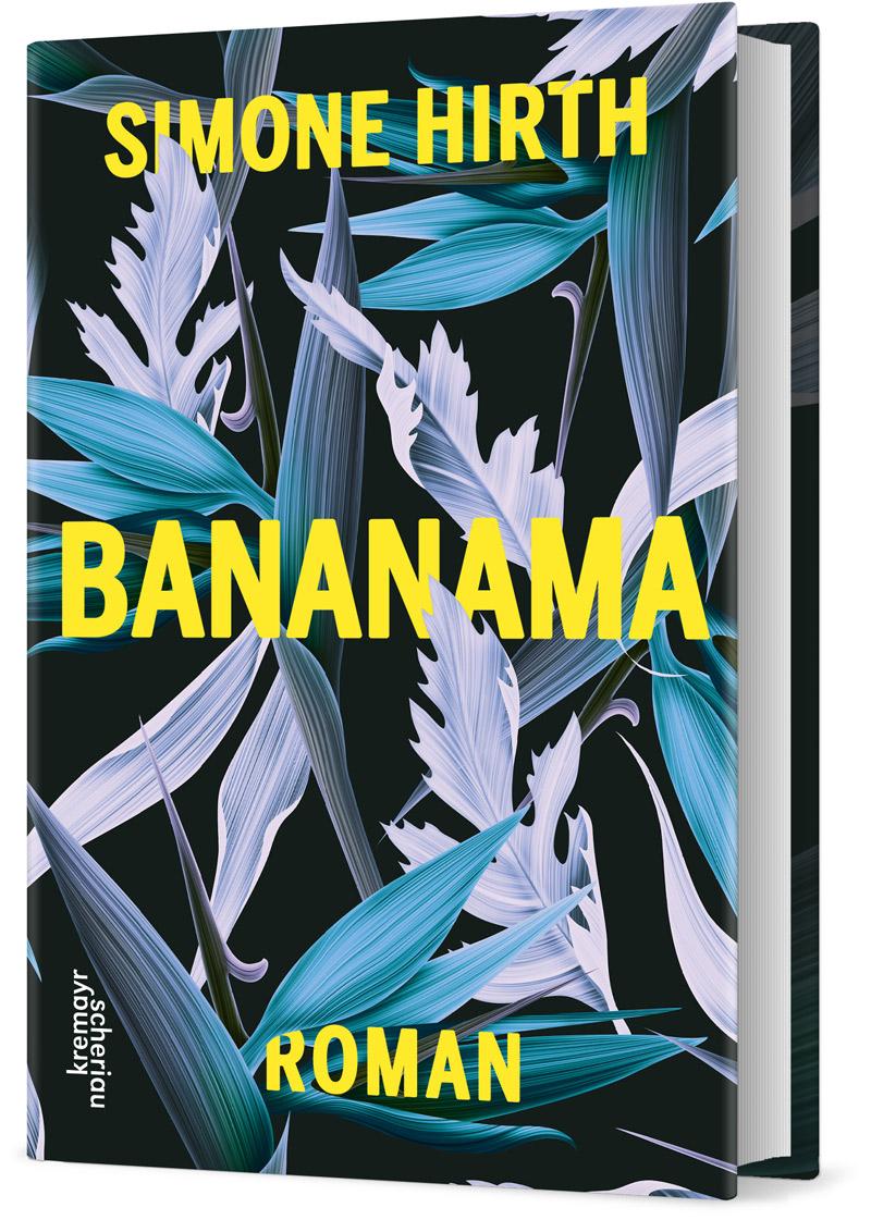 "Buchcover: ""Bananama"" von Simone Hirth"