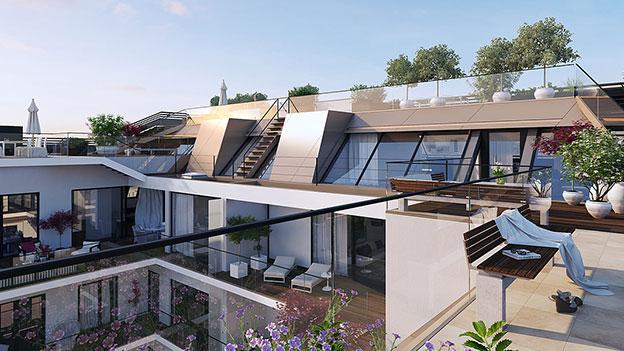 Die teuerste Wohnung Österreichs Visualisierung