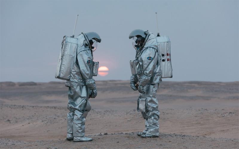 Analogastronauten in der Wüste von Oman