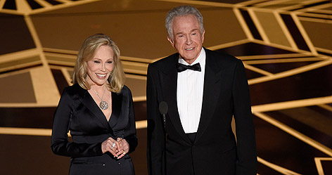 Faye Dunaway und Warren Beatty