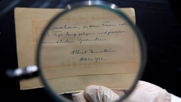 Einstein Manuskript