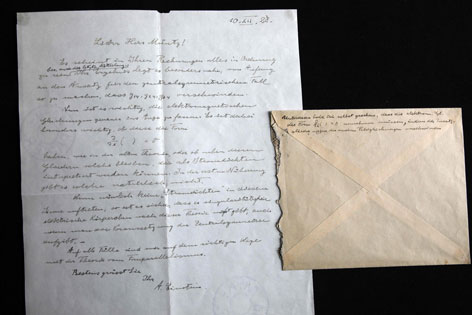 Manuskript Albert Einstein