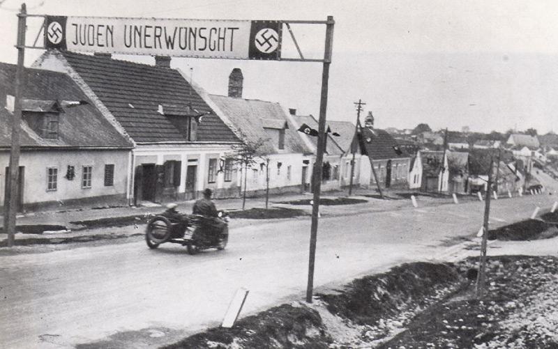 Hornstein, Burgenland, im März 1938